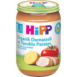 HiPP Organik Domatesli ve Tavuklu Patates Kavanoz Maması 220gr