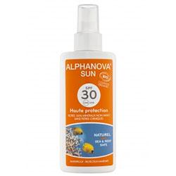 Alphanova Organic Sun Milk Spray SPF 30 125g