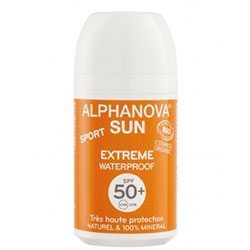 Alphanova Organik Suya Dayanıklı Güneş Koruyucu Roll On SPF 50 Faktör 50gr