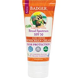 Badger Organik Güneş Kremi SPF 30 (Çocuk) 87ml
