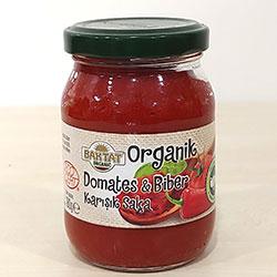 BAKTAT Organik Domates - Biber Karışık Salça 180gr