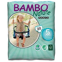 Bambo Nature Ekolojik Alıştırma Külodu 5 (12-20Kg) 20 Adet