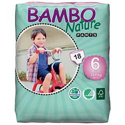 Bambo Nature Ekolojik Alıştırma Külodu 6 (18Kg+) 18 Adet