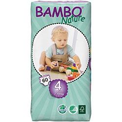 Bambo Nature Ekolojik Bebek Bezi Maxi 4 (7-18 kg) 60 Adet
