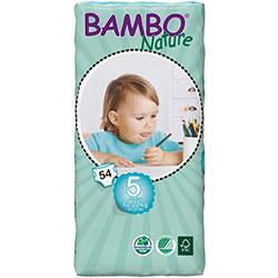 Bambo Nature Ekolojik Bebek Bezi Junior 5 (12-22 kg) 54 Adet