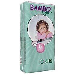 Bambo Nature Ekolojik Bebek Bezi Junior 6 (16-30 kg) 44 Adet