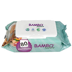 Bambo Nature Organik Islak Mendil 80 Adet