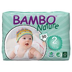 Bambo Nature Ekolojik Bebek Bezi Mini 2 (3-6 kg) 30 Adet