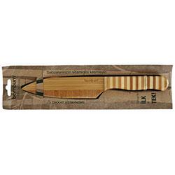 Bambum Doğal Bambu Bıçak (Düz Orta, Şef Bıçağı)