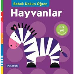 Bebek Dokun Öğren Hayvanlar (Pearson) (0-2 Yaş)