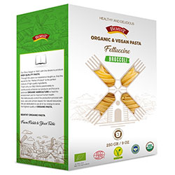 Bemtat Organik Brokolili Makarna  Fettuccini  250g