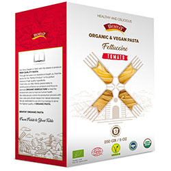 Bemtat Organic Pasta with Beetroot  Tomato  250g
