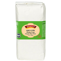 Bemtat Organik Pirinç Unu 500g