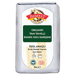 Bemtat Organic Whole Grain Bread Flour Mix 1 Kg