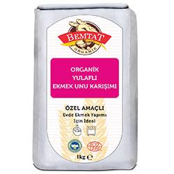 Bemtat Organik Yulaflı Ekmek Unu Karışımı 1 Kg
