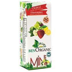 BenOrganic Organik Çilekli Meyve Suyu 200ml