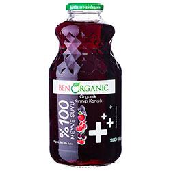 BenOrganic Organik Karışık Kırmızı Meyve Suyu 1L