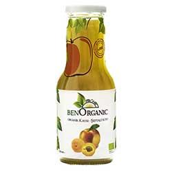 BenOrganic Organik Şeftali Kayısı Elma Suyu 250ml