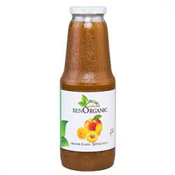 BenOrganic Organik Şeftali Kayısı Suyu 1L