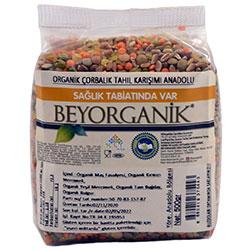 Beyorganik Organik Çorbalık Tahıl Karışımı  Anadolu  500g