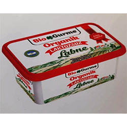Bio Gurme Organic Mild Cream Cheese  Lactose free  200g