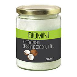 Biomini Organik Hindistan Cevizi Yağı 500ml