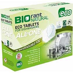Biorant Bulaşık Makinesi Tableti 25 Adet