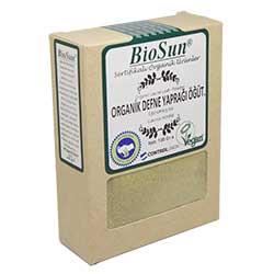 BioSun Organik Defne Yaprağı (Öğütülmüş) 100gr