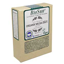 BioSun Organik Melisa (Öğütülmüş) 50g