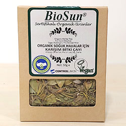 BioSun Organik Soğuk Havalar İçin Karışık Bitki Çayı (Kış Çayı) 50gr