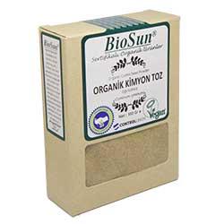 BioSun Organik Kimyon (Öğütülmüş) 100gr