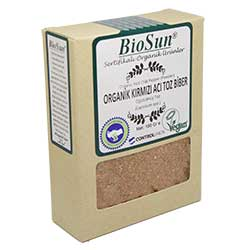 BioSun Organic Red Chili Pepper Powder 100g