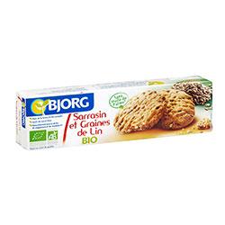 Bjorg Organik Karabuğdaylı ve Ketenli Bisküvi 125gr