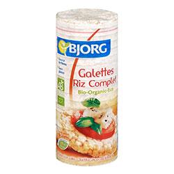 Bjorg Organik Glutensiz Bütün Pirinç Topakları 130gr