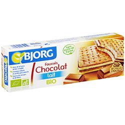 Bjorg Organik Sütlü Çikolata Dolgulu Bisküvi (9 adet) 225gr
