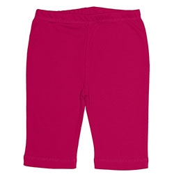 Canboli Organik Bebek Pantolon (Fuşya, 0-3 Ay)