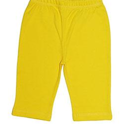 Canboli Organik Bebek Pantolon (Sarı, 6-12 Ay)