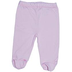 Canboli Organik Bebek Patikli Pantolon (Pembe, 12-18 Ay)