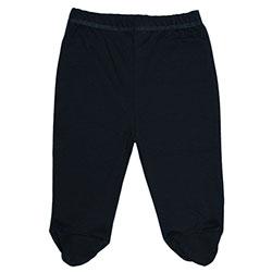 Canboli Organik Bebek Patikli Pantolon (Gri, 0-3 Ay)