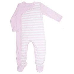 Canboli Organik Bebek Patikli Uyku Tulumu