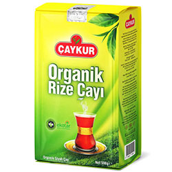 ÇAYKUR Organik Rize Siyah Çay 500g