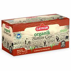 ÇAYKUR Organik Hemşin Çayı  Bardak Poşet  25 Adet