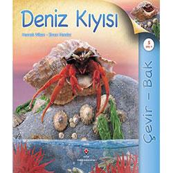 Çevir - Bak: Deniz Kıyısı (Yaş 5+) (TÜBİTAK, Hannah Wilson, Simon Mendez)