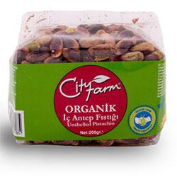 Cityfarm Organik Antep Fıstığı (Tuzsuz İç) 200gr