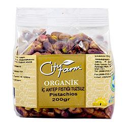 City Farm Organik Antep Fıstığı (Tuzsuz İç) 200gr