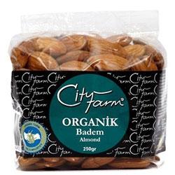 Cityfarm Organik Badem 250gr