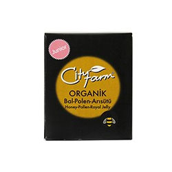 City Farm Organik Bal+Arısütü+Polen Junior 240gr