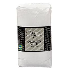 Cityfarm Organik Beyaz Buğday Unu 1kg