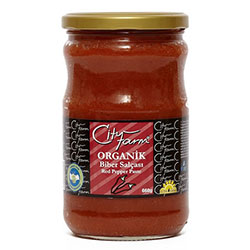 Cityfarm Organic Red Papper Paste 610g