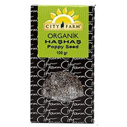 City Farm Organik Haşhaş 100gr